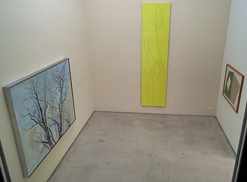 Installation view Raum 4