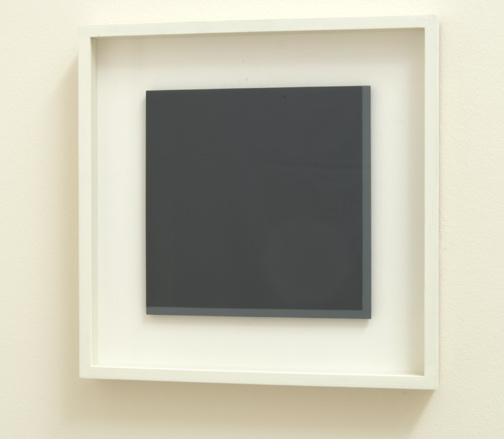 Antonio Calderara / Senza Titolo  1974  27 x 27 cm Oel auf Holztafel