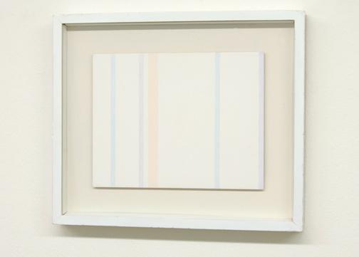Antonio Calderara / Senza Titolo  1974  21 x 27 cm Oel auf Holztafel