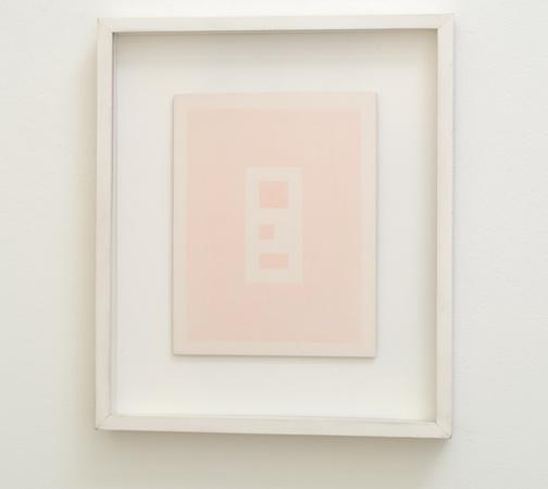 Antonio Calderara / Epigramma 4.1978  1978  24 x 18 cm Oel auf Holztafel