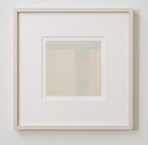 Antonio Calderara / Antonio Calderara Finestre  1959 13 x 13 cm Aquarell und Bleistift auf Papier