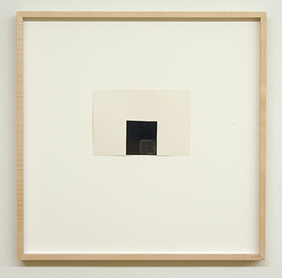 Sol LeWitt / James Bishop  Untitled  2015  11.3 x 16.5 cm Öl, Farbstift und Collage auf Papier