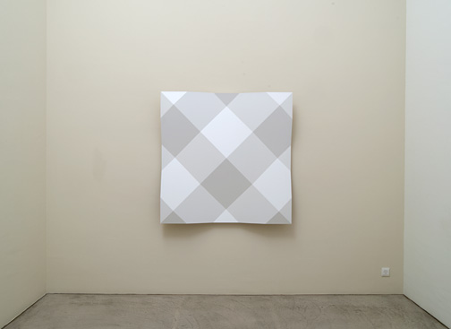Andreas Christen / Andreas Christen Ohne Titel  1998 140 x 140 cm MDF - Platte