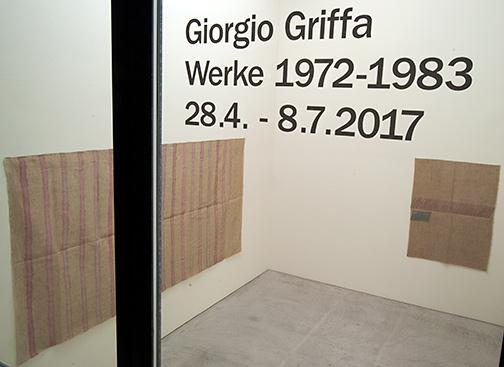 Giorgio Griffa / Works 1972 – 1983
