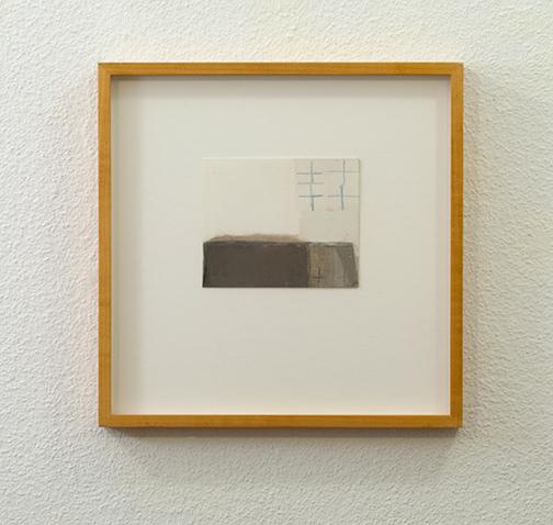 James Bishop / James Bishop Untitled  2001  11.3 x 13.8 cm oil and crayon on paper