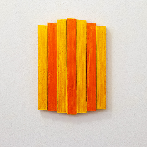 Joseph Egan / Joseph Egan heat  2013  33 x 23.5 x 3 cm oil paint on wood