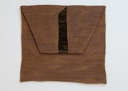 Richard Tuttle / Richard Tuttle New Mexico, New York Nr. 13  1998  45.7 x 50.8 cm acrylic on plywood