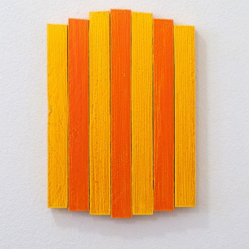 Joseph Egan / Joseph Egan heat  2013  33 x 23.5 x 3 cm Oil on wood