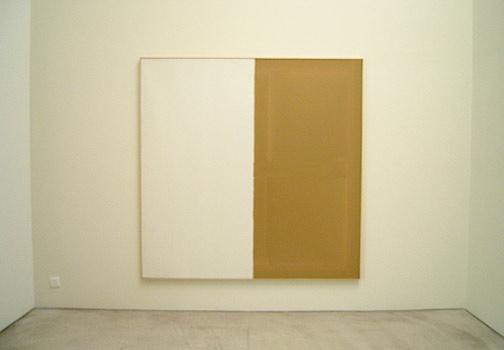 James Bishop / Untitled  1974 192,5 x 192,5 cm oil on canvas