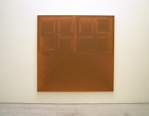 James Bishop / State 1972 182,7 x 183 cm oil on canvas