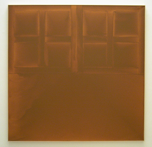James Bishop / State 1972 182,7 x 183 cm oil on canvas