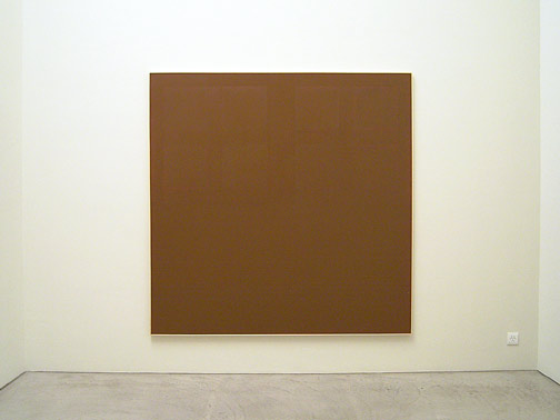 James Bishop / Untitled 1971 195 x 195,5 cm Öl auf Leinwand