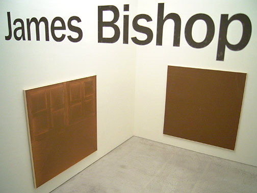 James Bishop / Four Brown Paintings 1971 - 1974