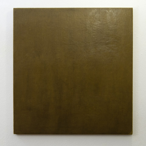 Jerry Zeniuk / Untitled (for Nr. 61)  1976  81 x 76 cm Oil and wax on canvas