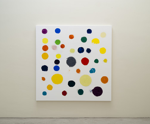 Jerry Zeniuk / Untitled (Nr. 313)  2011  170 x 170 cm Oil on canvas