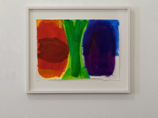 Jerry Zeniuk / Untitled (Mooseurach)  2005  26.5 x 38 cm watercolor on Paper
