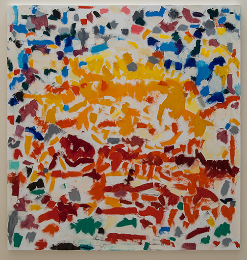 Jerry Zeniuk / Untitled Nr. 232  2000  160 x 152 cm oil on canvas