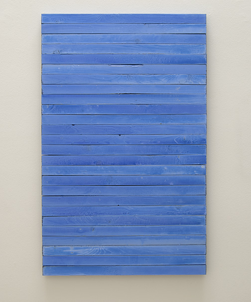 Joseph Egan / hortensia  2009  116 x 74 x 3.5 cm various paints on wood