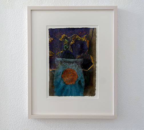 Joseph Egan / Bouquet (Nr.1)2014 48.5 x 39 x 3 cmpaper: 30 x 21 cmoil paints on paper with framing