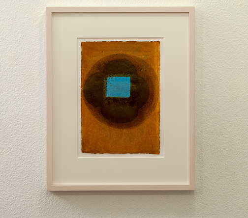 Joseph Egan / inner space (Nr.2)2013 48.5 x 39 x 3 cmpaper: 30 x 21 cmoil paints on paper with framing