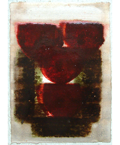 Joseph Egan / in wine (Nr. 5)  2013  30 x 21 cm oil paint on paper