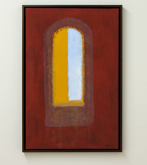 Joseph Egan / open2009 62.5 x 42.5 x 3 cmvarious paints on canvas with framing