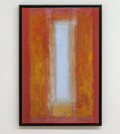 Joseph Egan / between200962.5 x 42.5 x 3 cmvarious paints on canvas with framing