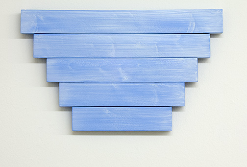 Joseph Egan / paean  2017  39.5 x 23.5 x 2.5 cm various paints on wood