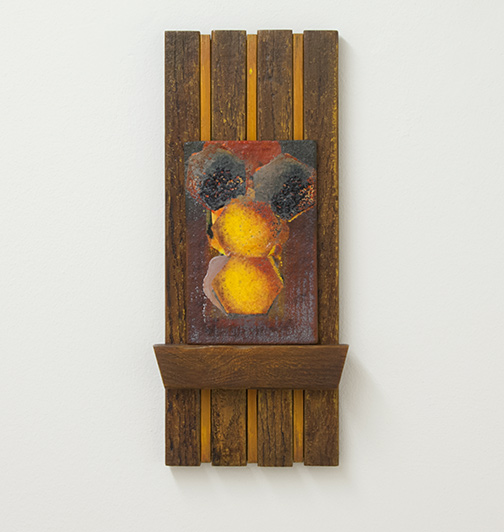 Joseph Egan / La Casa d'Api  2014  47 x 21 x 5 cm painted wood and painted panel
