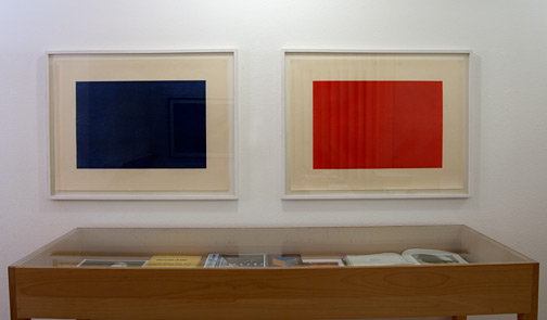 Donald Judd / Donald Judd Untitled  1986 60 x 80 cm woodcut Untitled  1986 60 x 80 cm woodcut