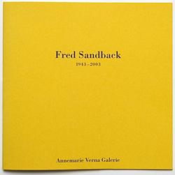 Fred Sandback (1943 – 2003)