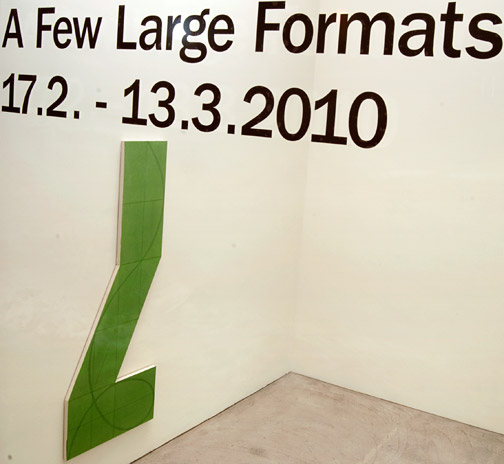 Andreas Christen,  				Sol LeWitt,  				Robert Mangold,  				David Rabinowitch,  				Fred Sandback,  				Jerry Zeniuk, A Few Large Formats