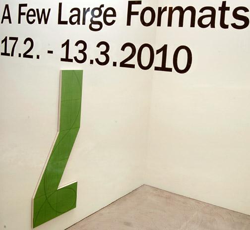 Andreas Christen,  Sol LeWitt,  Robert Mangold,  David Rabinowitch,  Fred Sandback,  Jerry Zeniuk, A Few Large Formats