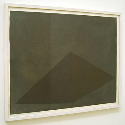 Sol LeWitt / Pyramid  1985 48.7 x 58 cm gouache on paper  Privatsammlung nicht verkäuflich