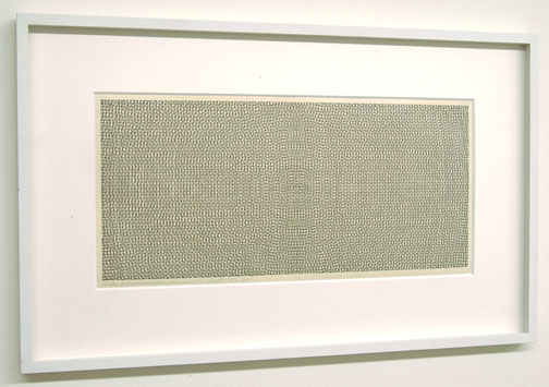 Sol LeWitt / Circles, Grid and Arcs  from Four Sides  1972 pencil and ink on paper 19 x 41.5 cm   Privatsammlung nicht verkäuflich
