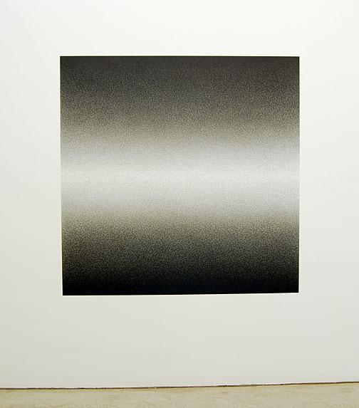 "Sol LeWitt / Scribble Wall Drawing #15  2007  graphite 152.4 x 152.4 cm / 60 x 60""  first drawn by: Nicolai Angelov  first installation: Annemarie Verna Galerie, Zürich 2009"
