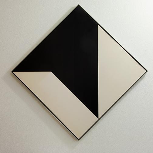 Andreas Christen / Andreas Christen Ohne Titel  1960 99 x 99 cm resin on masonite