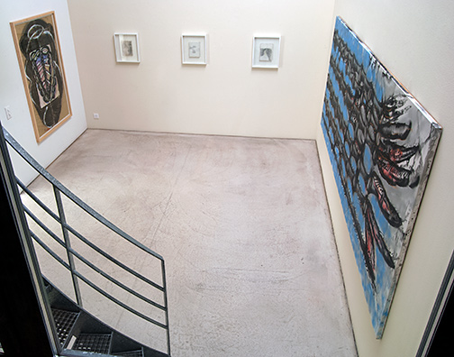 Installation view Raum 1