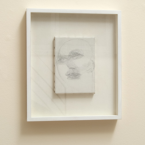 Marisa Merz / Marisa Merz Untitled  1985 22 x 16 cm pencil on canvas