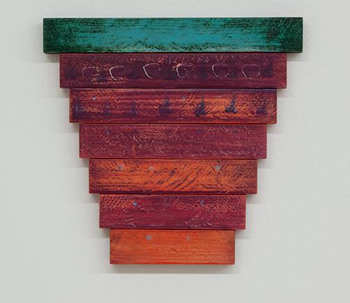 Joseph Egan / Joseph Egan Wümmet  2018 30.5 x 32.5 x 2.5 cm oil paints on wood