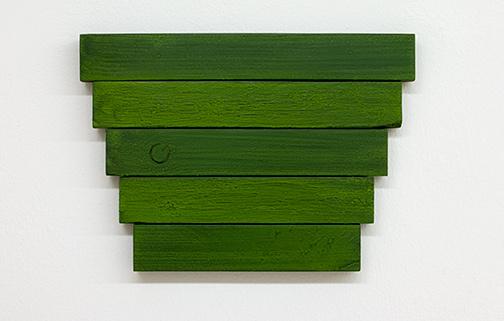 Joseph Egan / Joseph Egan in the pines   2018 22 x 31 x 2.5 cm oil paints on wood