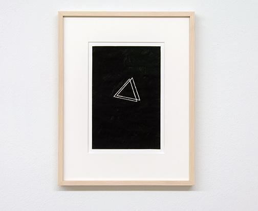 Richard Tuttle / Richard Tuttle Untitled   1973  22.8 x 14.8 cm ink on paper