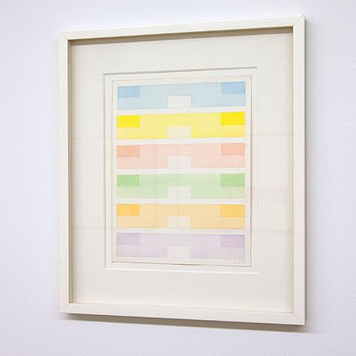 Antonio Calderara / Antonio Calderara Acquarello  1969  28 x 21.5 cm watercolor and pencil on paper