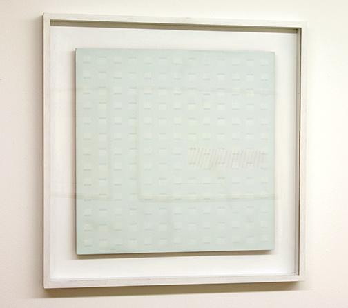 Antonio Calderara / Antonio Calderara Costellazione  1968 54 x 54 cm oil on wood panel