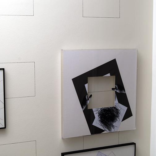 Giulio Paolini / L'ombra del vuoto  2009  80 x 80 cm Collage auf Papier
