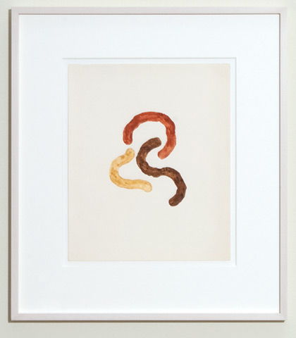 Richard Tuttle / Untitled  1970 30.7 x 25.4 cm english watercolor