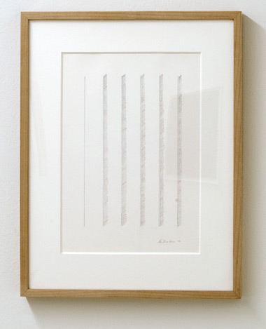Ree Morton / Ree Morton Untitled  1970  48.5 x 37.7 cm Pencil on paper