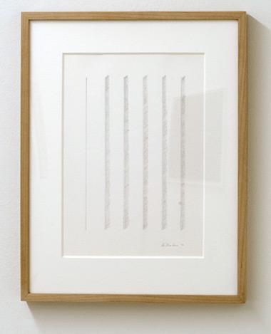 Ree Morton / Ree Morton Untitled  1970  48.5 x 37.7 cm Pencil on paper