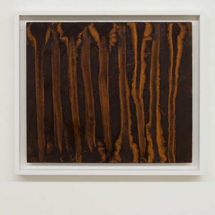 Ree Morton / Ree Morton Untitled  1968 - 1970  28.3 x 33.3 cm Oil on masonite
