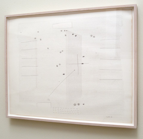 Ree Morton / Ree Morton Untitled  1972  58.4 x 73.7 cm Pencil on paper